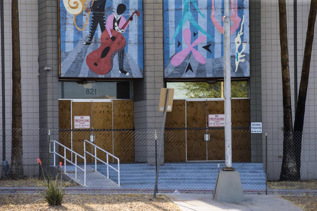 El Reed Whipple Cultural Center a lo largo de Las Vegas Boulevard North en Las Vegas el martes ...