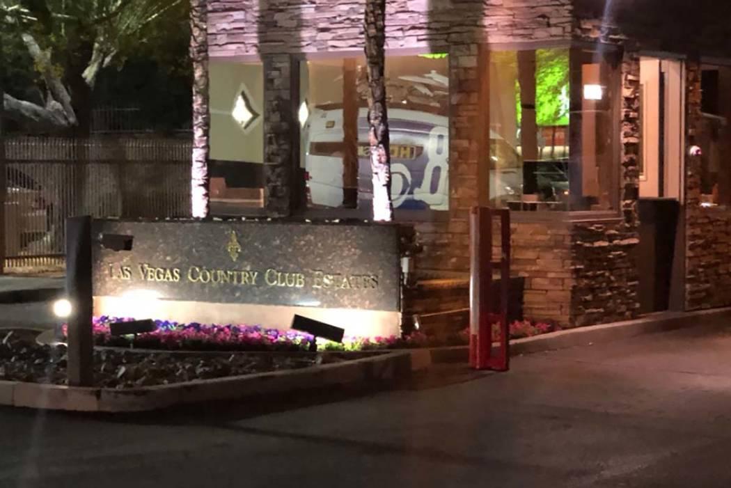 La policía de Las Vegas estuvo involucrada en un tiroteo mortal el martes 14 de mayo de 2019, ...