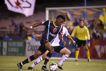 Las Vegas Lights FC derrotó 2-0 a Cal FC en juego correspondiente a la U.S. Open Cup. Martes 1 ...