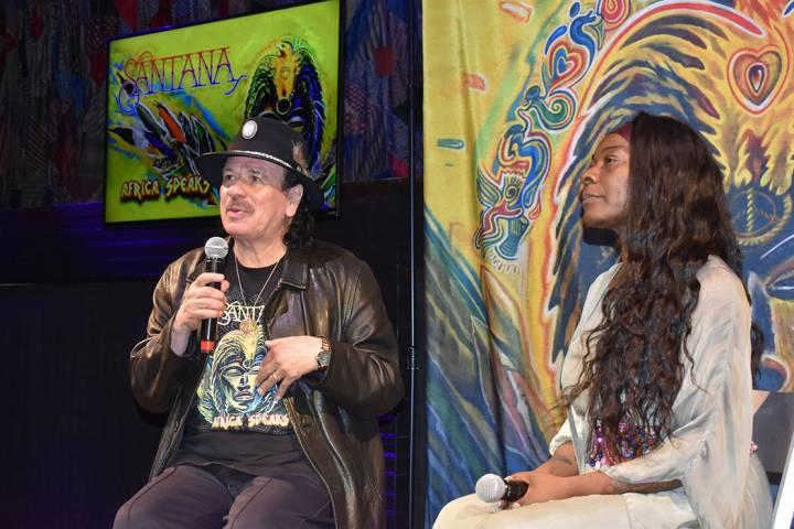 Carlos Santana tiene una visión muy espiritual, la que refleja en su producción musical. En A ...