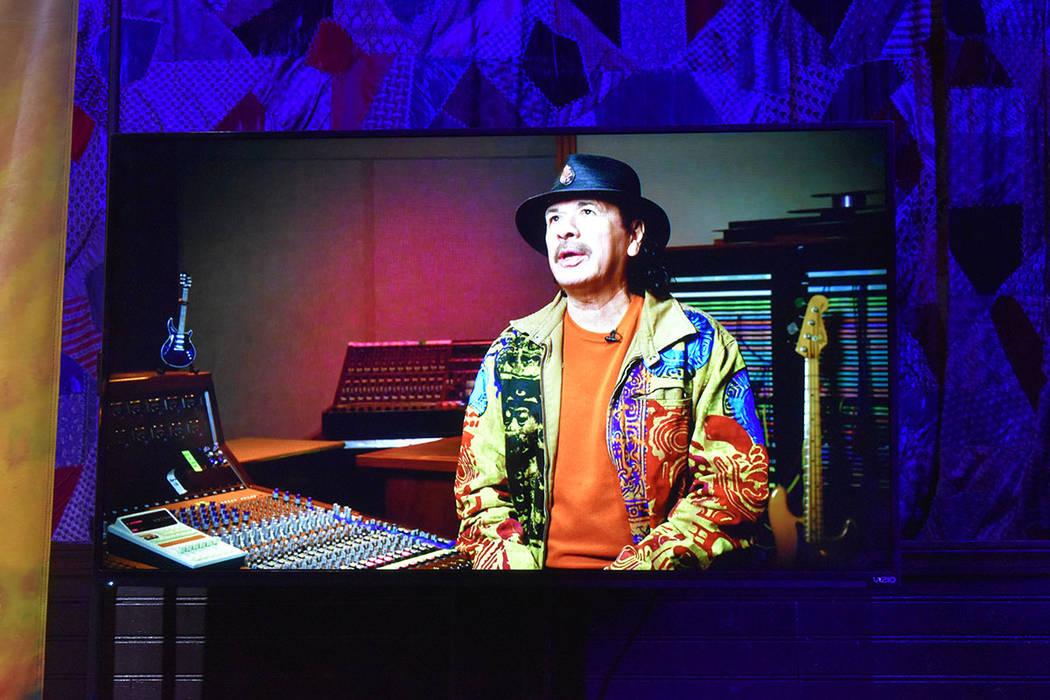 Carlos Santana tiene una visión muy espiritual, sugiere que se realice una convención de Cham ...