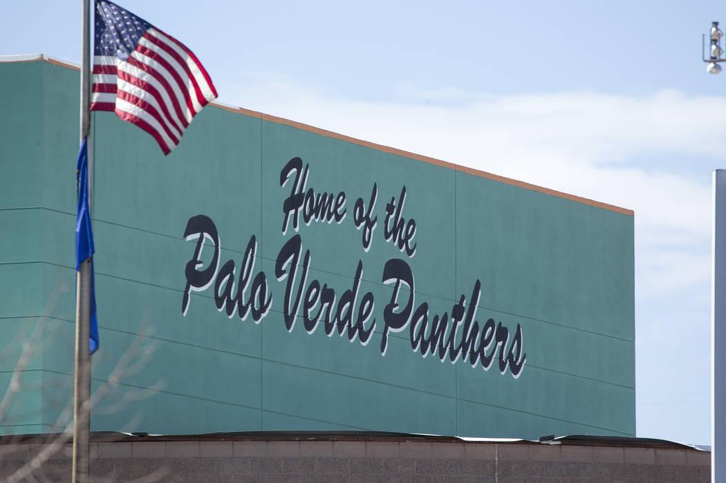 Palo Verde High School en Las Vegas. (Las Vegas Review-Journal · El Tiempo).