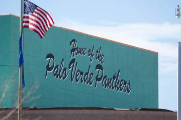 Palo Verde High School en Las Vegas. (Las Vegas Review-Journal · El Tiempo).