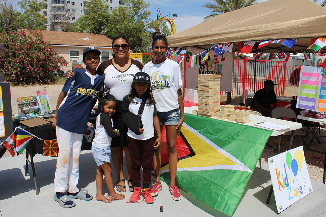 Los ritmos caribeños se disfrutaron en el Festival del Sabor. Sábado 18 de mayo de 2019 en el ...