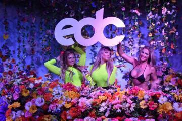 Nellie, Amy y Britney disfrutaron del EDC desde la zona VIP. Del 17 al 19 de mayo de 2019 en La ...