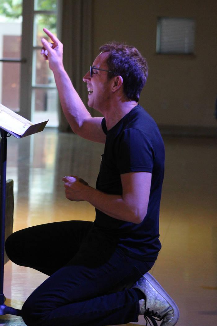 El maestro Daryll Borges, fue el director del concierto de sus 27 alumnos. Jueves 23 de mayo de ...