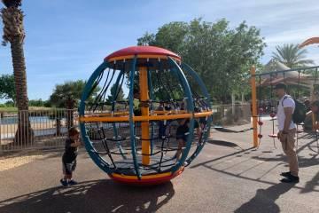 Aliante Nature Discovery Park se sometió a una renovación de 400 mil dólares que incluyó un ...