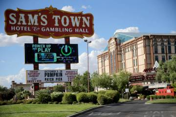 Sam's Town en Las Vegas (K.M. Cannon/Las Vegas Review-Journal) @KMCannonPhoto