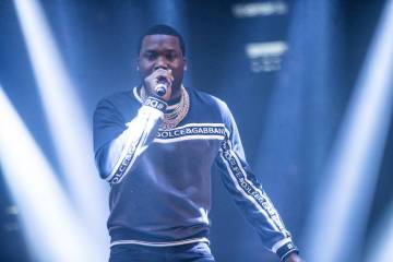Meek Mill en Drai's Nightclub (Tony Tran)