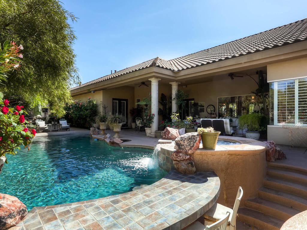 La casa de 4 Chartiers Court en Henderson tiene un precio de alquiler de $20,000 por mes. (Chri ...