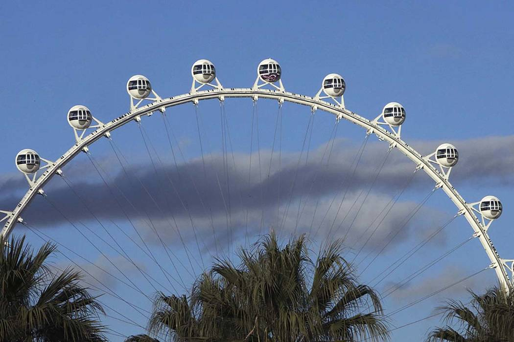 The High Roller en el Strip de Las Vegas (Bizuayehu Tesfaye / Las Vegas Review-Journal) @bizute ...
