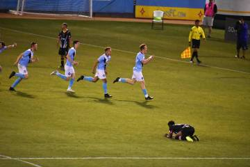 Orange County FC derroto a Las Vegas Lights FC en la ronda 3 de la Lamart Hunt U.S. Open Cup. M ...