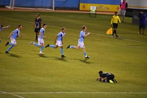 Orange County FC derroto a Las Vegas Lights FC en la ronda 3 de la Lamart Hunt U.S. Open Cup. M ...