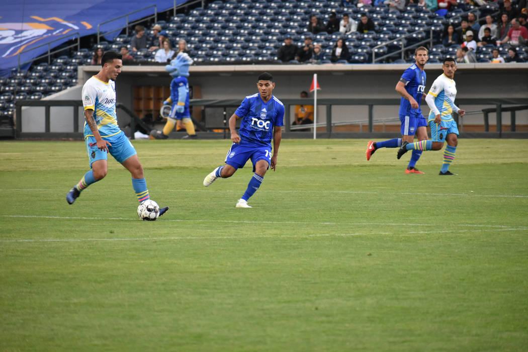 """Reno 1868 FC superó ampliamente a Las Vegas Lights FC el """"Clásico de Nevada"""" disputado en ..."""