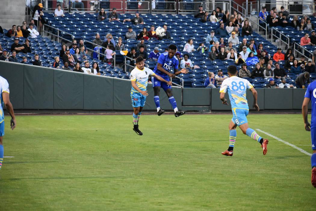 Las Vegas Lights FC perdió por goleada de 4-0 en su visita ante Reno 1868 FC en juego correspo ...