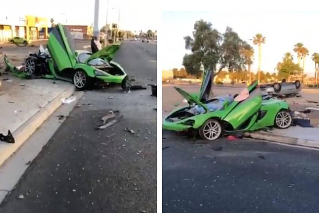 Una persona está muerta y otras dos están gravemente heridas después de un accidente el domi ...
