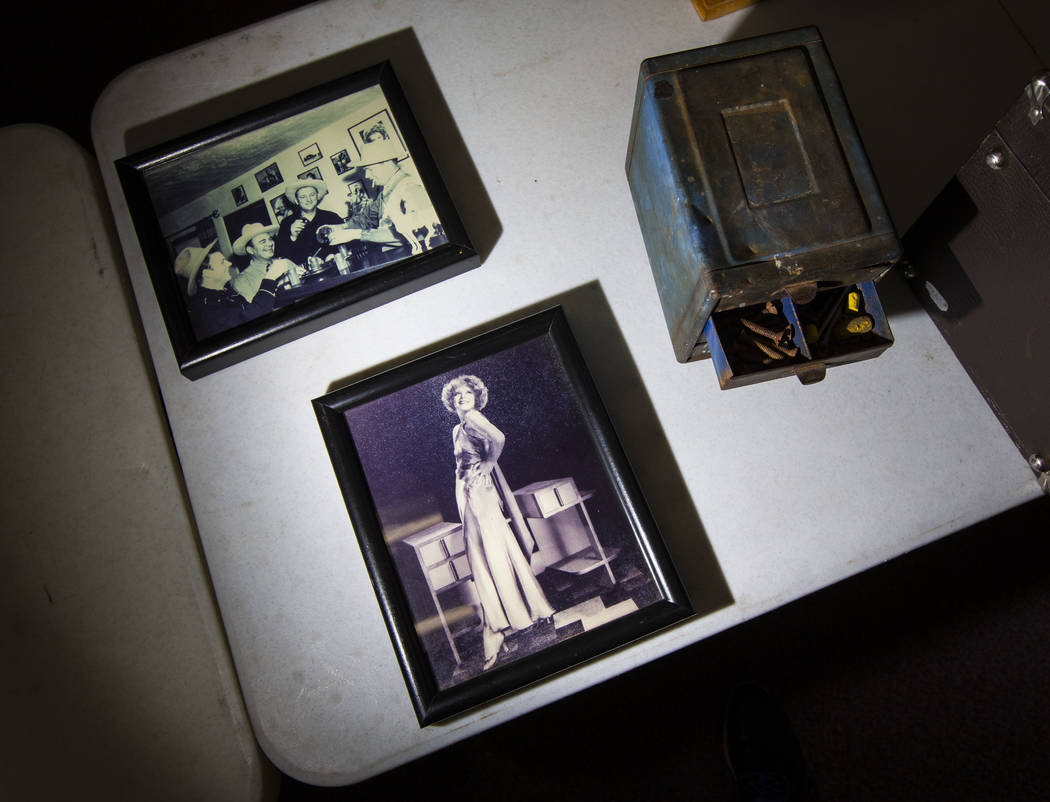 Una foto de Clara Bow en Walking Box Ranch, Searchlight, en el campus Paradise de la UNLV en La ...