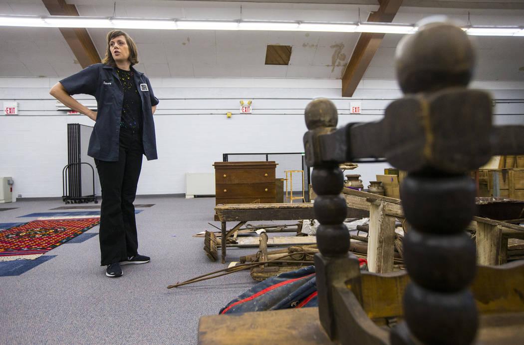 Deirdre Clemente, directora asociada del programa de historia pública de UNLV, habla sobre la ...