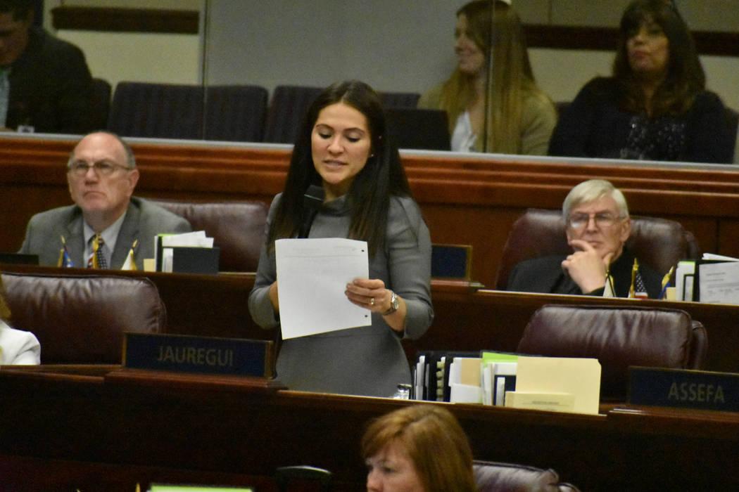 La asambleísta Sandra Jáuregui fue la patrocinadora del proyecto de ley AB291 dedicado a redu ...