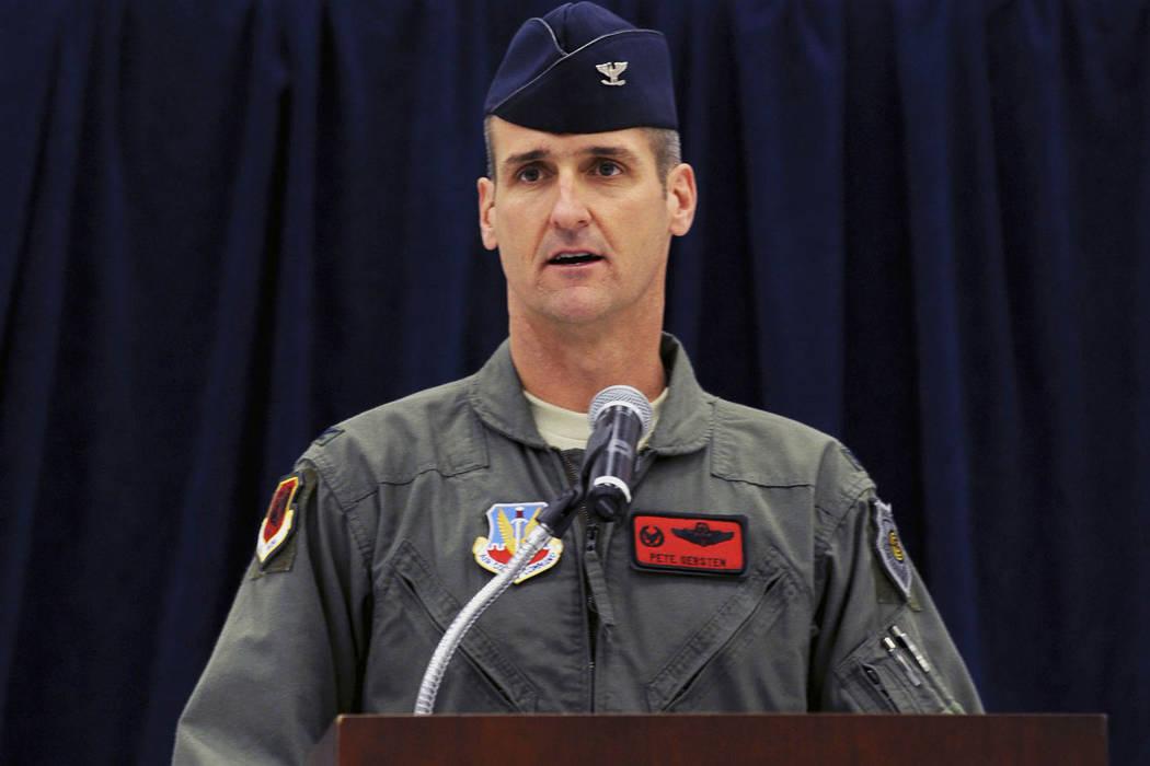 El General de División Peter Gersten habla por primera vez como el comandante del Ala Expedici ...