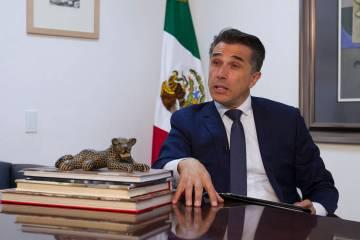 ARCHIVO. México, 9 May 2019 (Notimex-Oscar Ramírez).- El presidente de la Comisión de Cultur ...
