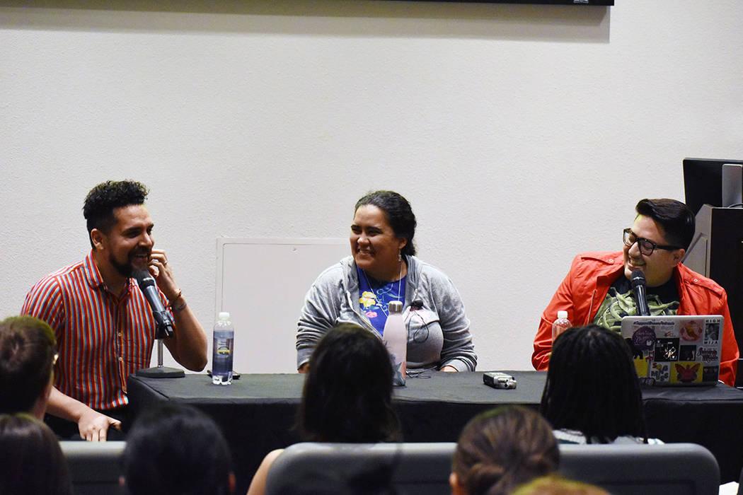 Babelito y Favyfax, ambos ex-alumnos de UNLV, tuvieron como invitada especial al podcast a la D ...