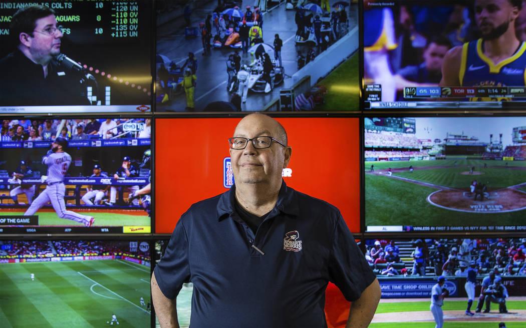 El director de apuestas deportivas de South Point, Chris Andrews, pronto lanzará un libro titu ...