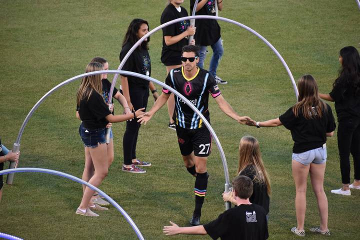 Las Vegas Lights FC empató 1-1 ante Orange County SC en el Cashman Field. Sabado 6 de junio de ...