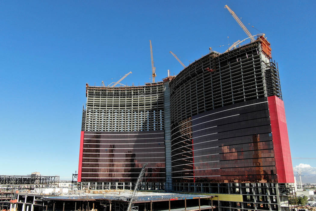 Resorts World Las Vegas está en construcción en el antiguo sitio de Stardust el jueves, 7 de ...