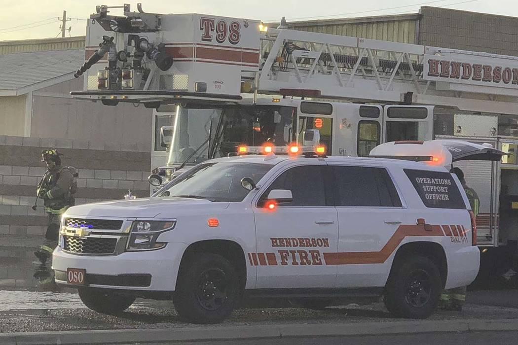 Departamento de Bomberos de Henderson (Las Vegas Review-Journal · El Tiempo)