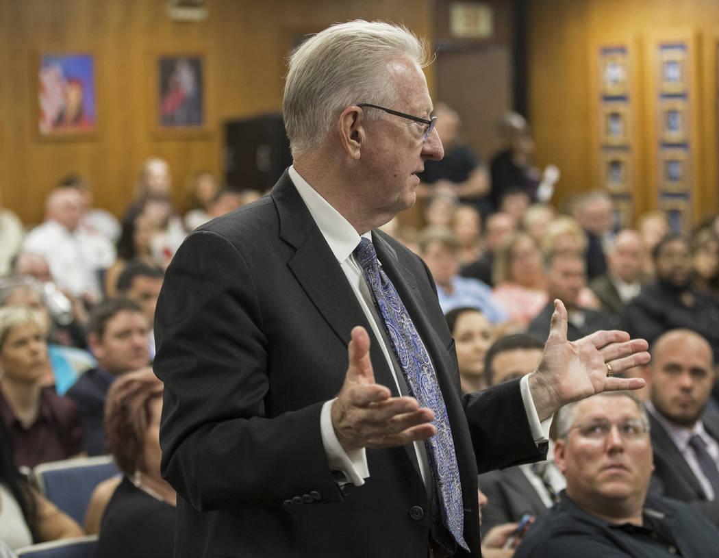 Stephen Augspurger, director ejecutivo de la Asociación de Administradores Escolares y Emplead ...