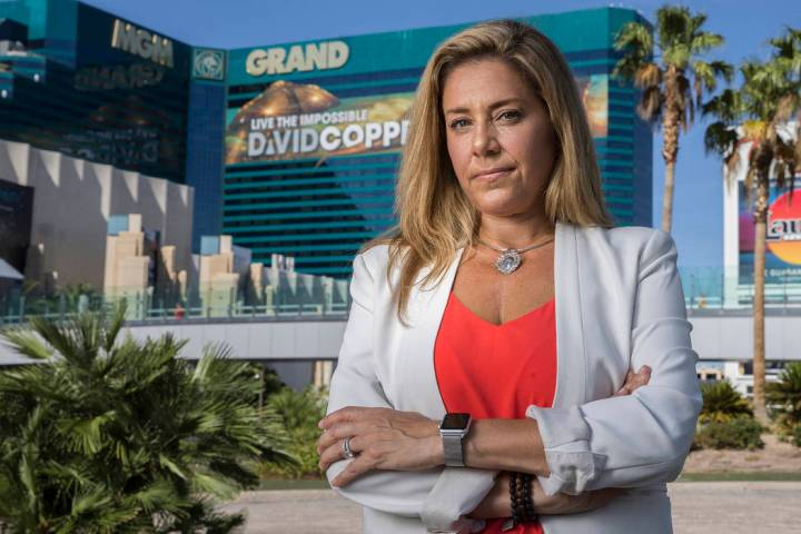 Mali Catello, ex directora de formación de aprendizaje con MGM Resorts International, fue desp ...