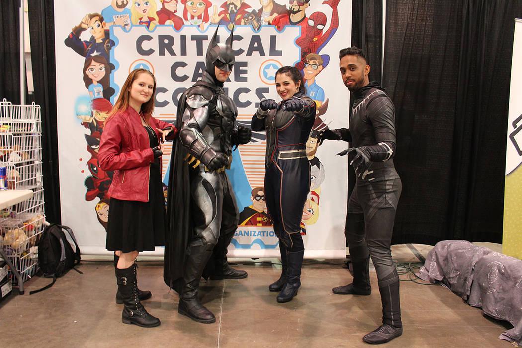 Los superhéroes tuvieron su guarida en Las Vegas. Sábado 15 de junio del 2019 en Centro de Co ...