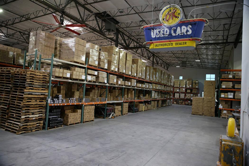 La sede de Retro Manufacturing en Henderson, miércoles 19 de junio de 2019. (Erik Verduzco / L ...