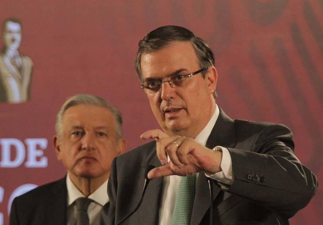 México, 21 Jun 2019 (Notimex- Gustavo Durán).- El canciller, Marcelo Ebrard, informó que se ...