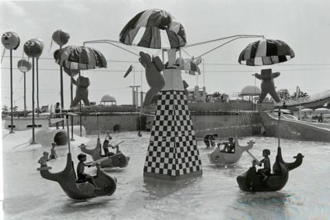 Los niños juegan en el área infantil de Wet'n'Wild en Las Vegas Boulevard. (Archivo de Las Ve ...