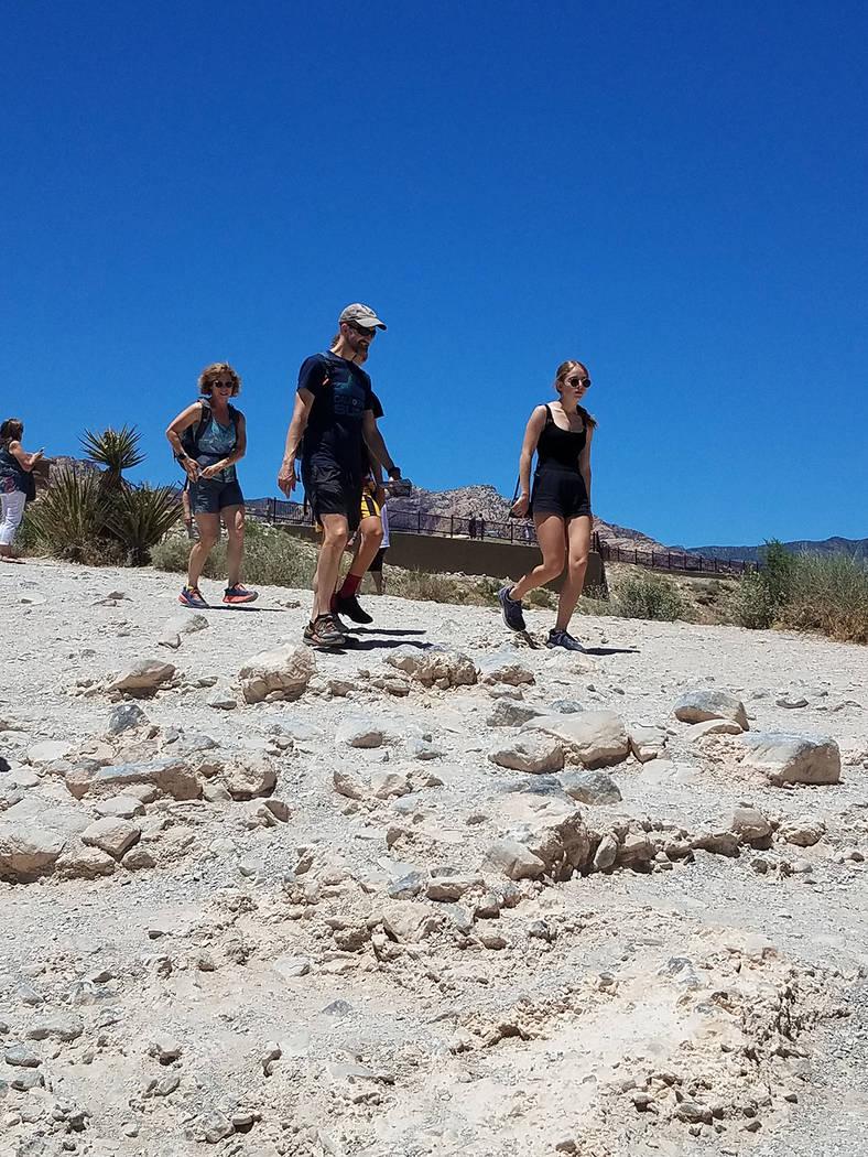 En 1931 se alcanzaron los 118°F siendo el récord de calor en Las Vegas. Domingo 23 de junio d ...