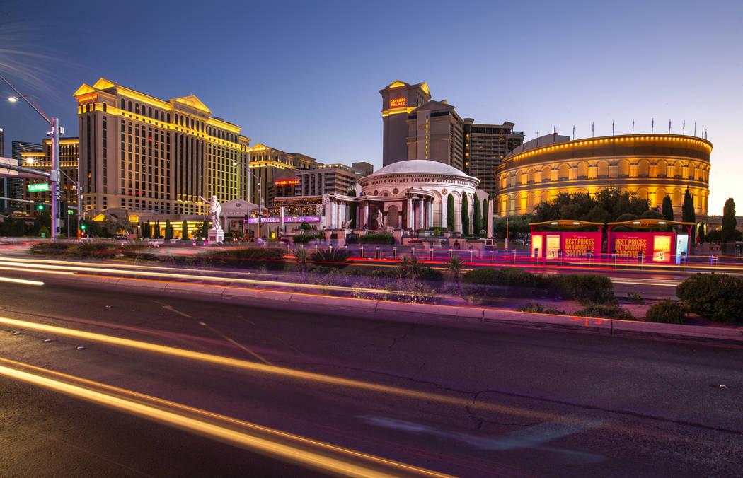 Caesars Palace en Strip el domingo 23 de junio de 2019, en Las Vegas. (L.E. Baskow/Las Vegas R ...