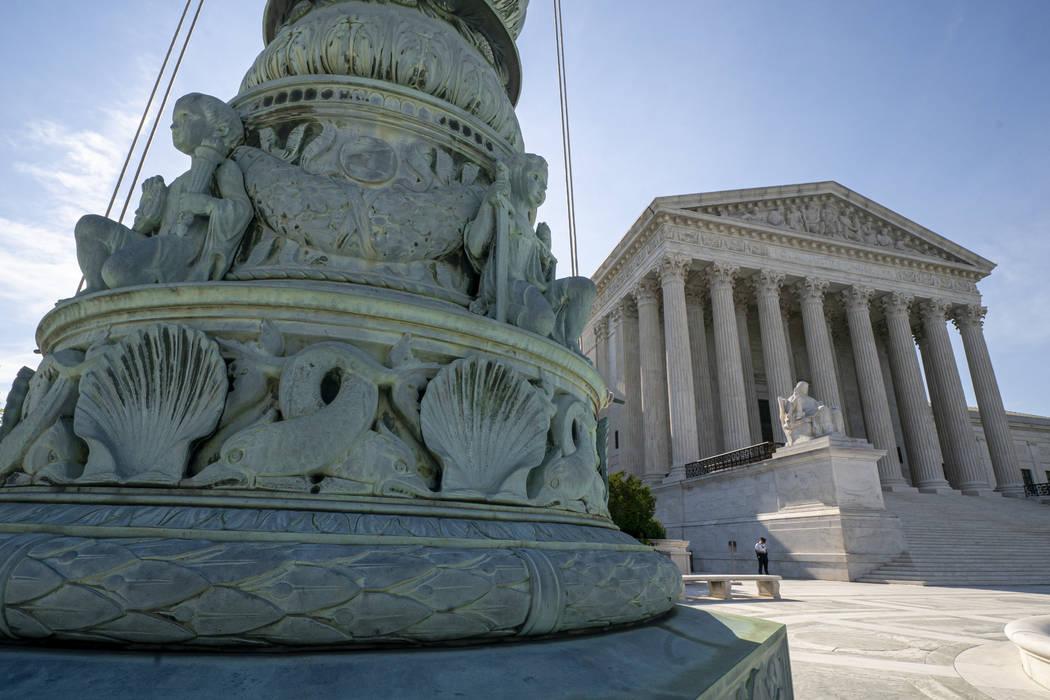 La Corte Suprema de los Estados Unidos en Washington, DC (J. Scott Applewhite / AP)