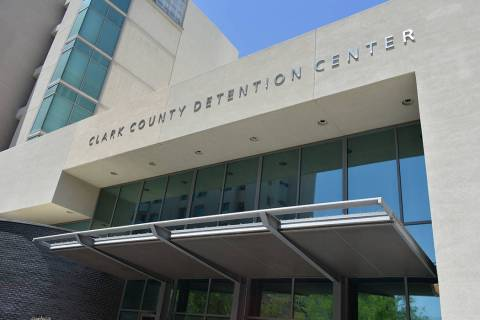 Edificio del Centro de Detención del Condado Clark, situado en el centro de Las Vegas. Miérco ...