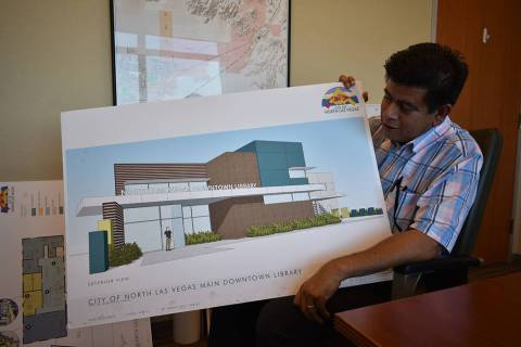 El concejal de North Las Vegas Isaac Barrón habló sobre los servicios que se mejorarán en la ...
