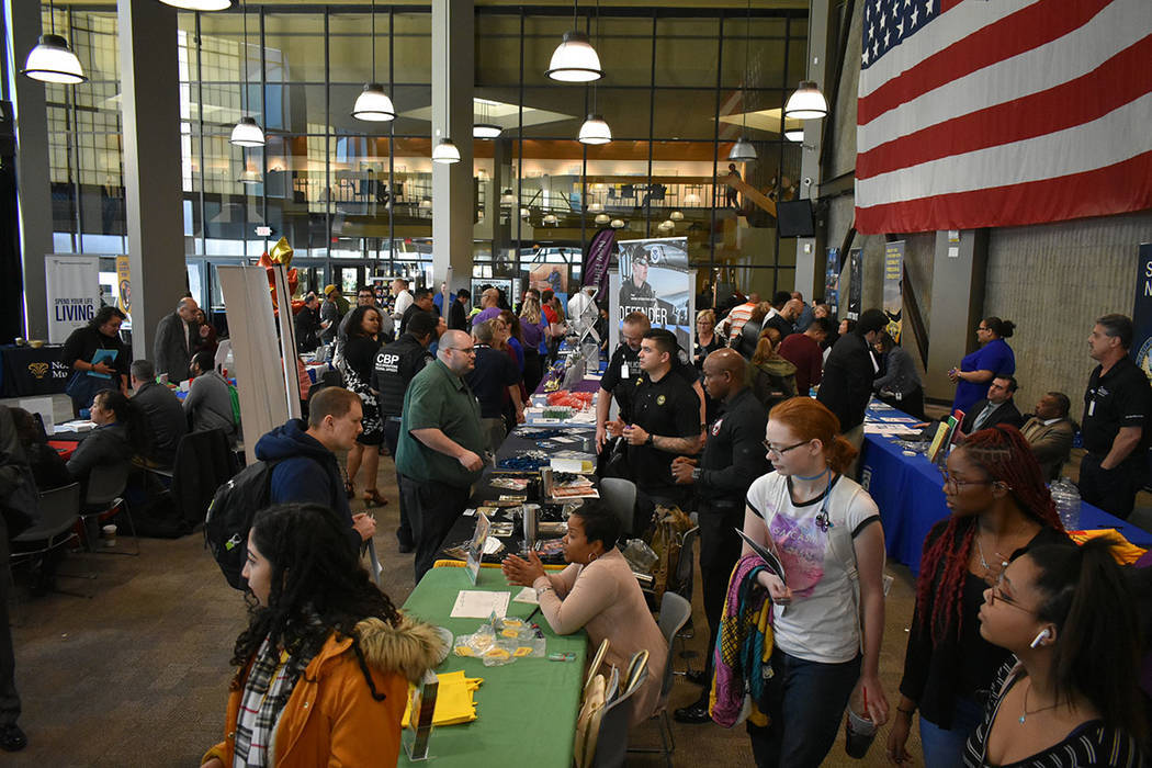 ARCHIVO.- Más de 35 agencias y empresas ofrecieron puestos de trabajo en el evento 'CSN's ...