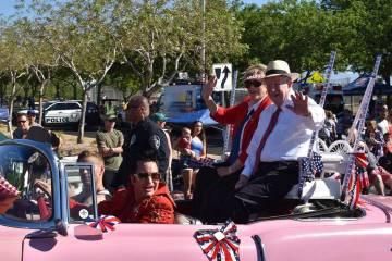 Como cada año, el desfile se realiza el 4 de julio, Día de la Independencia de los Estados Un ...