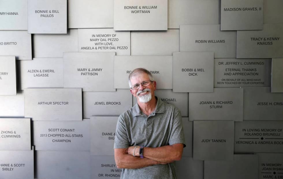 """William """"Bill"""" Kramer en la Clínica Cleveland Centro Lou Ruvo para la Salud Cerebral en Las Ve ..."""