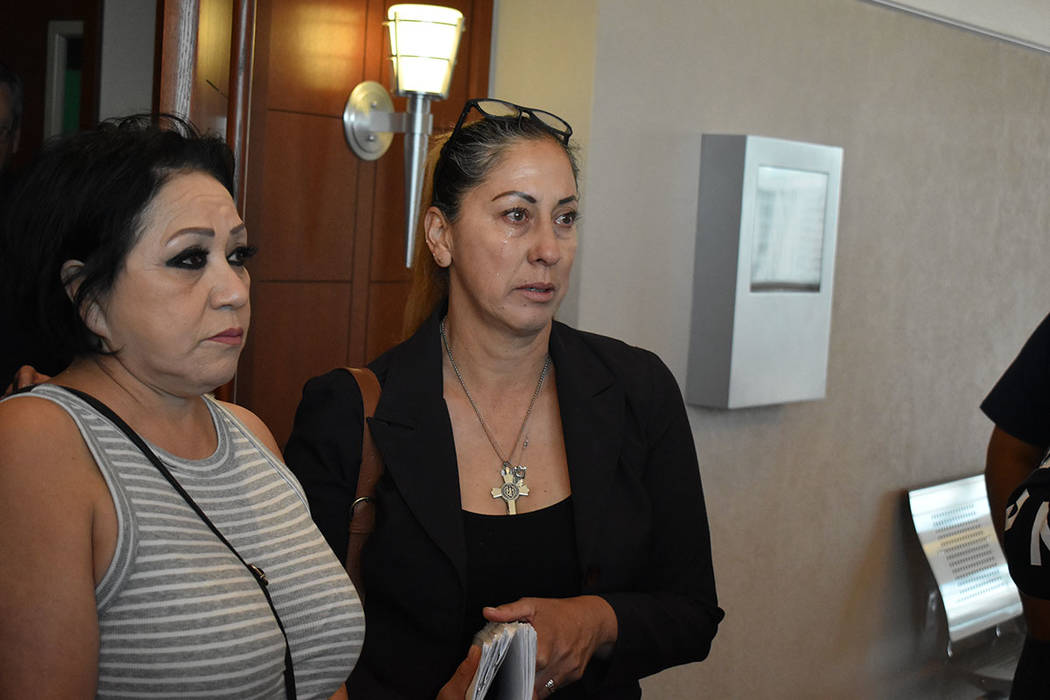 Alma González y su familia piden un juicio justo para Óscar Padilla. Miércoles 1 de mayo de ...