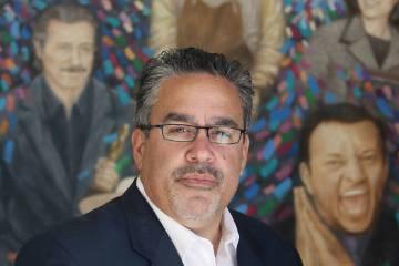 Peter Guzmán, presidente de la Cámara de Comercio Latina. (Ronda Churchill / Las Vegas Business Press)