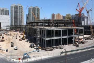 La ampliación del Las Vegas Convention Center fotografiada el martes 9 de julio de 2019 en Las ...
