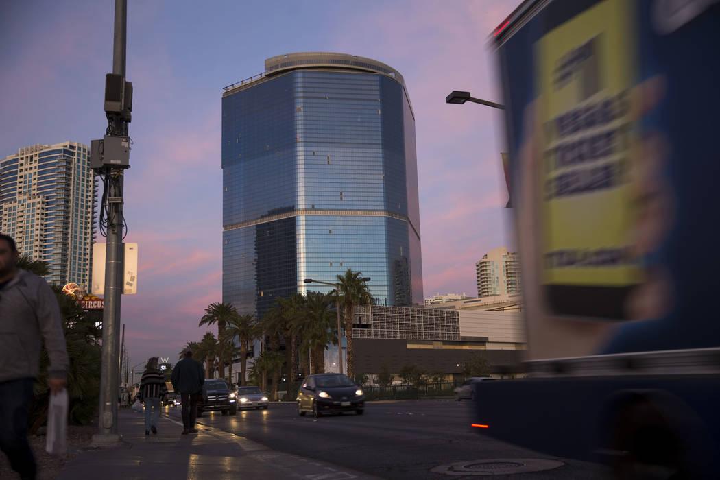 El proyecto inacabado de Fontainebleau en la Strip de Las Vegas, el miércoles 13 de diciembre ...