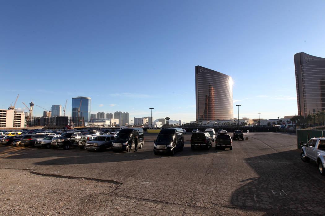 Trump International en Fashion Show Drive cerca de la Strip en Las Vegas el miércoles 10 de en ...