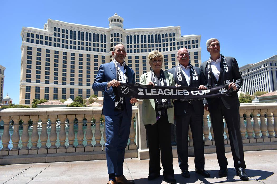 Autoridades de Las Vegas, de la Liga MX y de la MLS anunciaron que la final de la Leagues Cup s ...